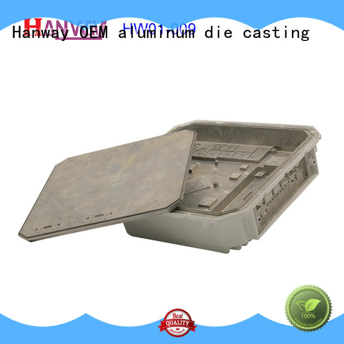 Hanway coating telecommunication parts accessories design for manufacturer