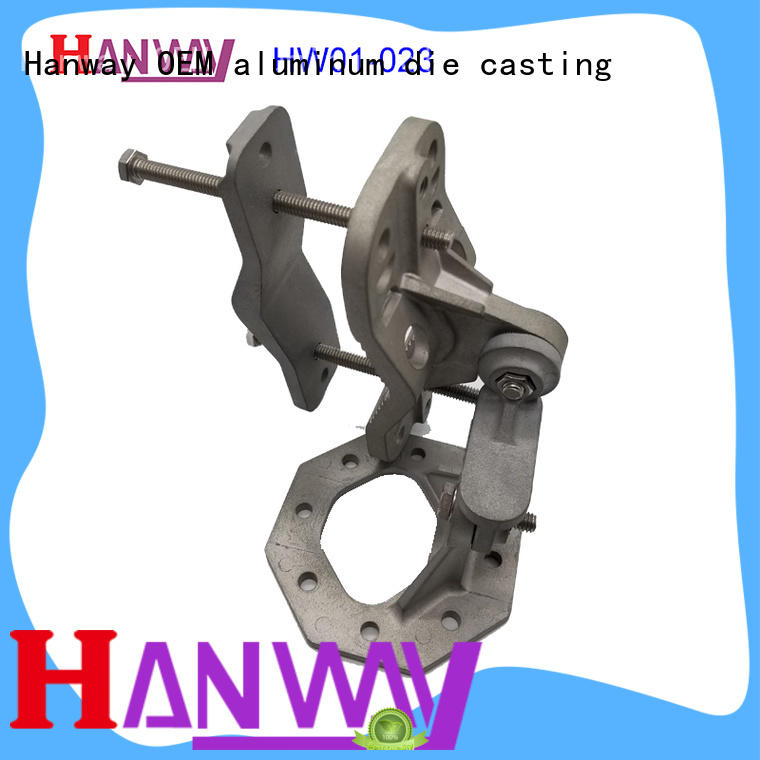 Hanway mounted aluminum alloy casting inquire now for workshop