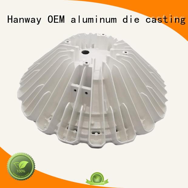 Wholesale machining die aluminum light pole Hanway Brand