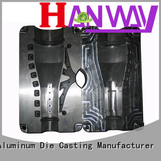 Hanway motorcycle heatsink mold part for trader