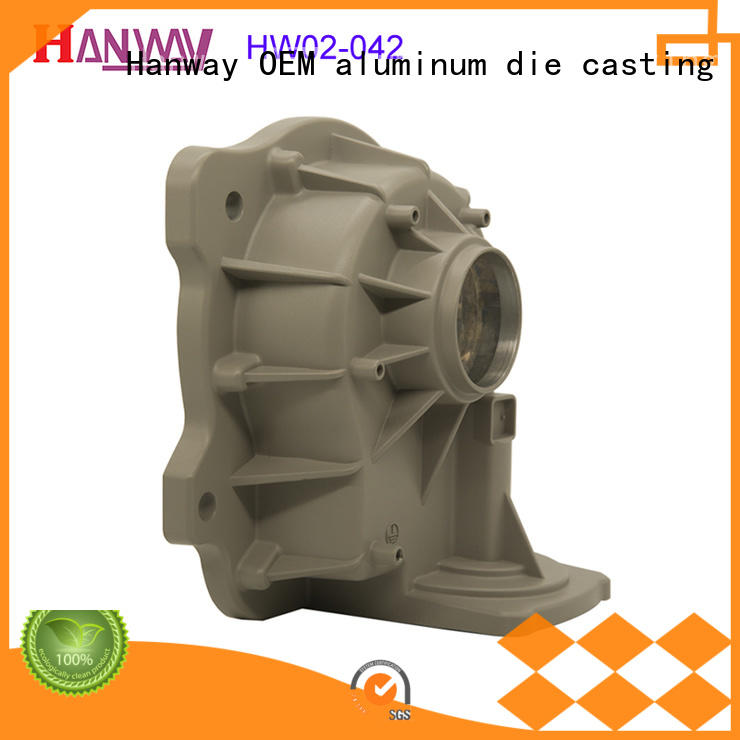 Hanway die casting from China for manufacturer