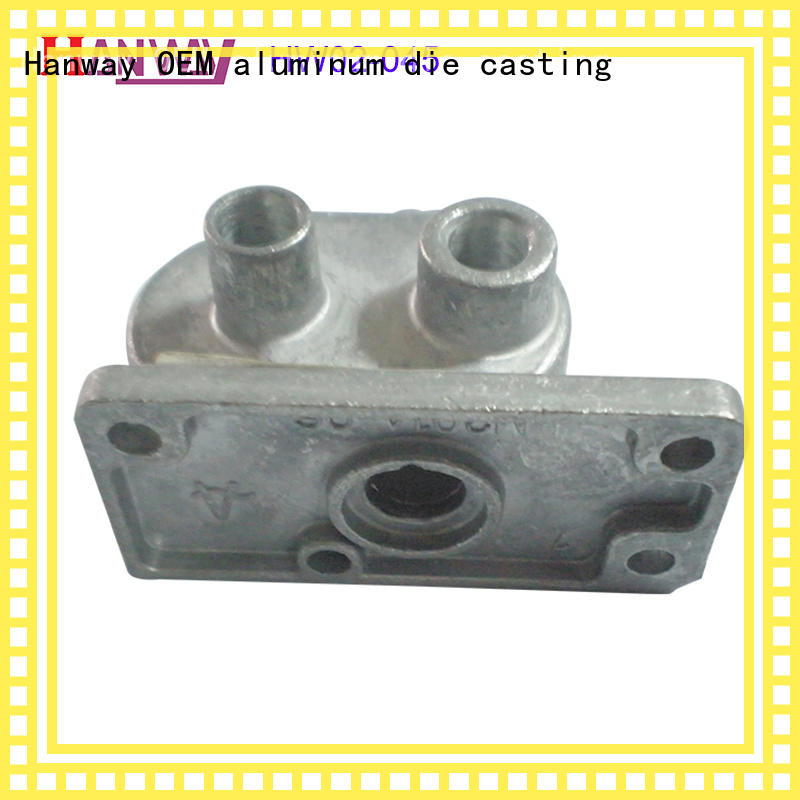 Hanway accessories aluminium die casting parts directly sale for workshop