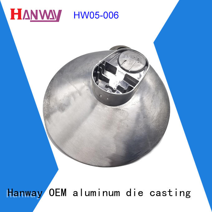 Hanway die casting recessed lighting housing kit for mining