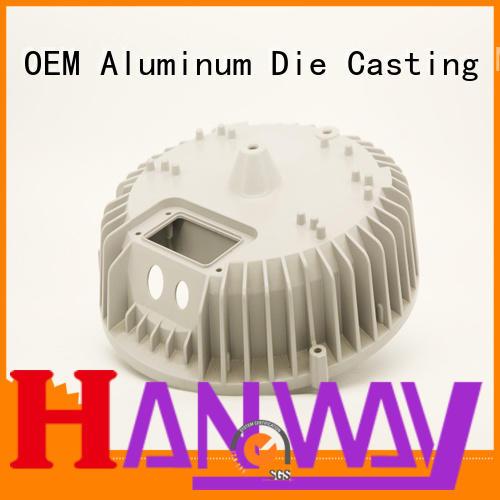 oem precision aluminum light pole cnc Hanway Brand