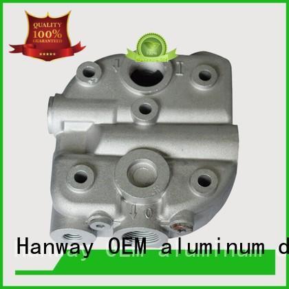 Hanway coating aluminium die casting companies factory price for industry