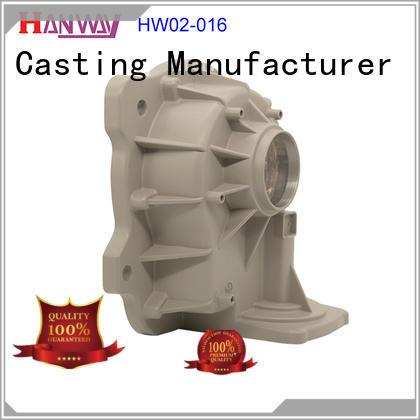 polished aluminum die casting parts hw02003 wholesale for workshop