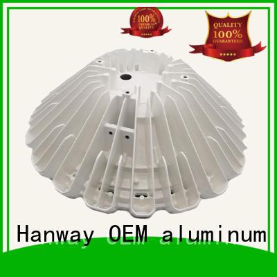 aluminum channel industrial Hanway Brand aluminum light pole