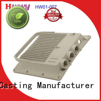 Hanway die casting wireless telecommunications parts with good price for manufacturer
