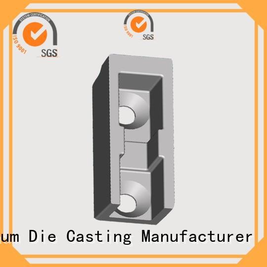 chinese customized OEM aluminium pressure die casting process Hanway