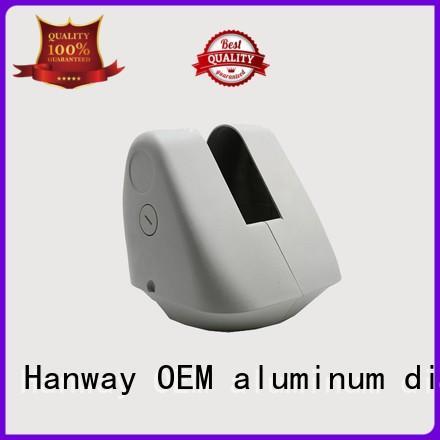 cctv camera accessories die casting waterproof black aluminum die cast cctv camera housing Hanway Brand