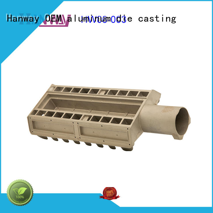 Hanway alloy heat sink design supplier for plant