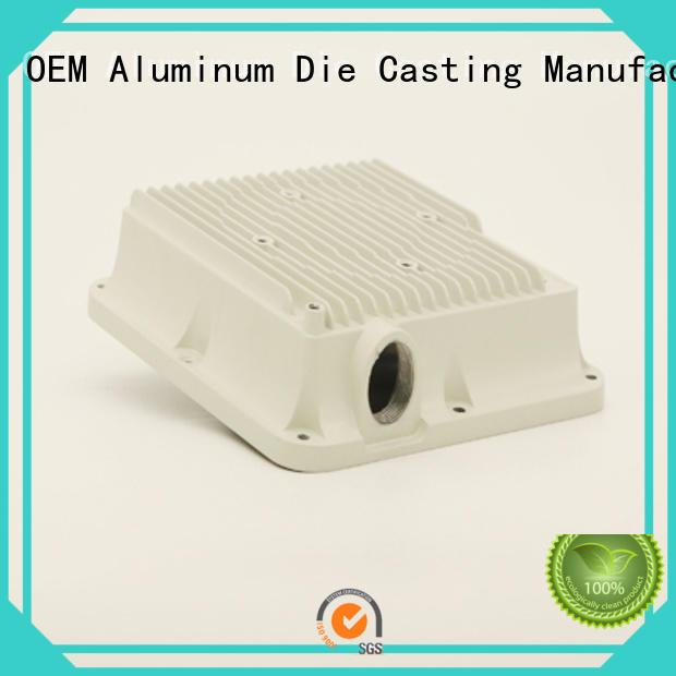 Hanway Brand white aluminum die casting wireless antenna aluminum factory