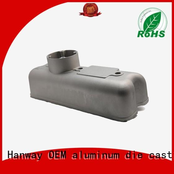Hanway Brand aluminum machining auto custom auto parts